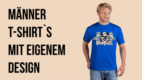 quality design 68a5a a483e T-Shirt bedrucken aus der Schweiz mit eigenem Design ab 1 Stück